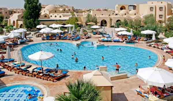 Slide4 600x350 Egypte Rihana Resort Pool