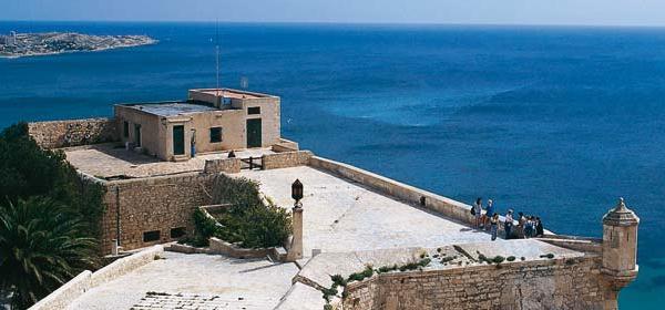 Slide3 600x350 Spanje Alicante castillo_santa_barbara