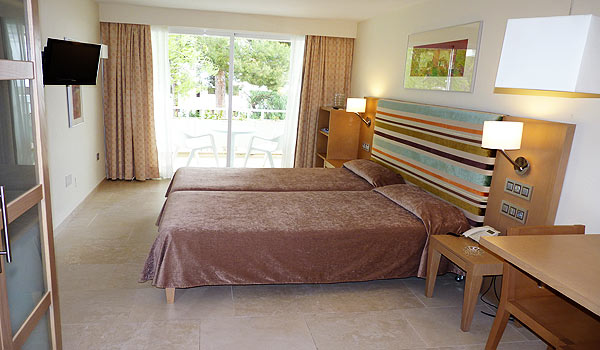 Mallorca_Hotel Ponent de Mar-Slaapkamert