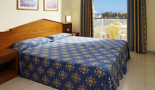 Hotel-Aparthotel-Slaapkamer