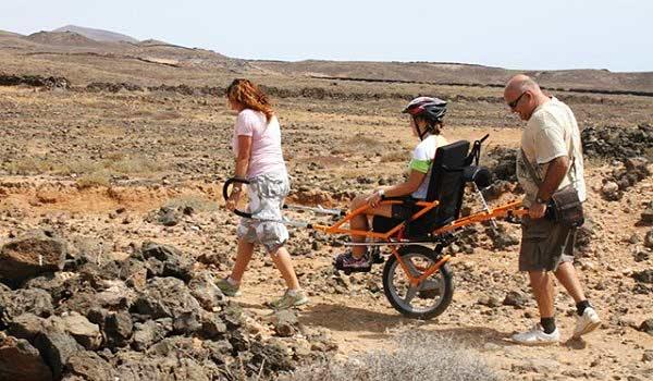 Lanzarote rolstoel