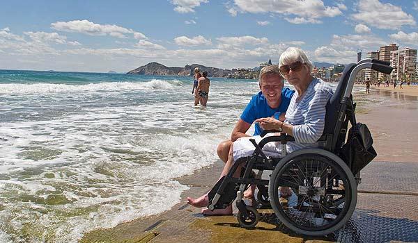 Strand-Benidorm-rolstoel